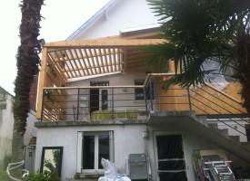 bois 2 bout With nice amenagement exterieur terrasse maison 11 bois 2 bout realisations surelevation ossature bois et